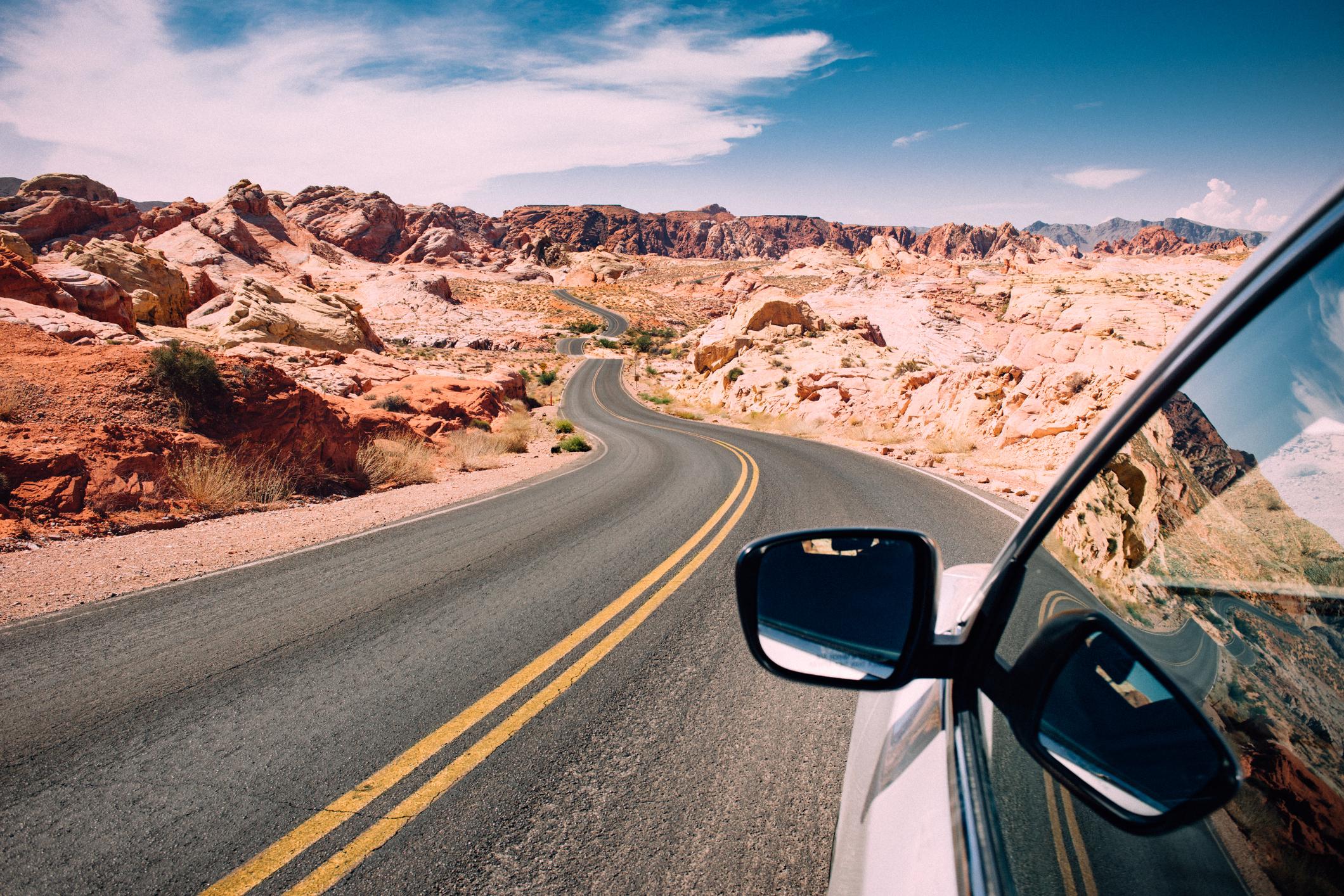 Vehículo en carretera